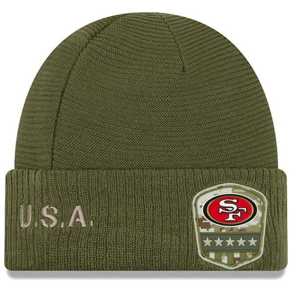 New Era OnField 19 STS Knit Hat San Francisco 49ers