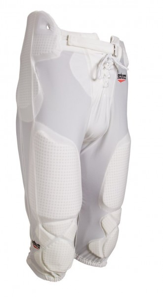 All In One Football Pant Weiß Youth / Jugend incl. Pads