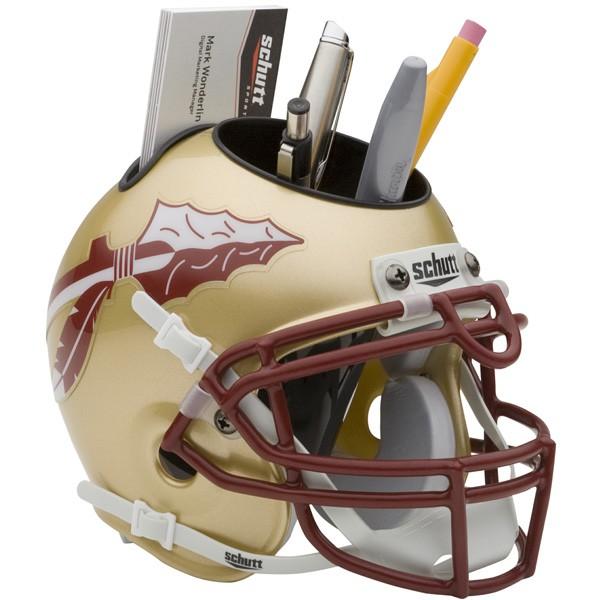 Schutt Mini Helmet Desk Caddy Florida State Seminoles