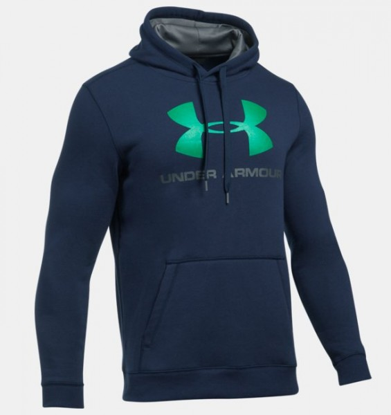 Under Armour Rival Fitted Hoodie Navy (410 )