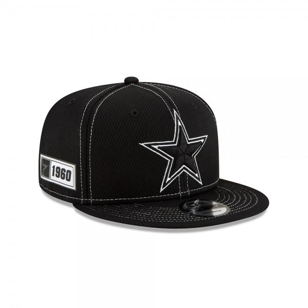 NFL 2019 Sideline 9Fifty Snapback Cap OSFM Away Dallas Cowboys