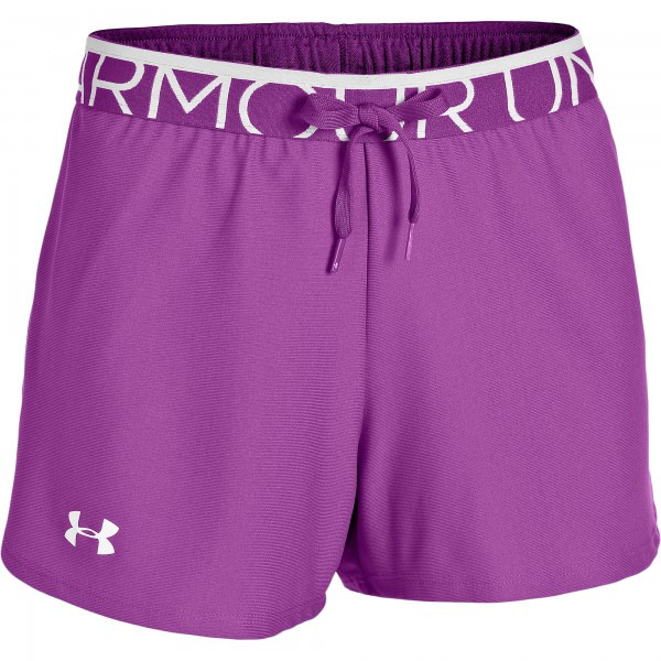 UA The Play up Short Exotic Bloom 568 XSmall