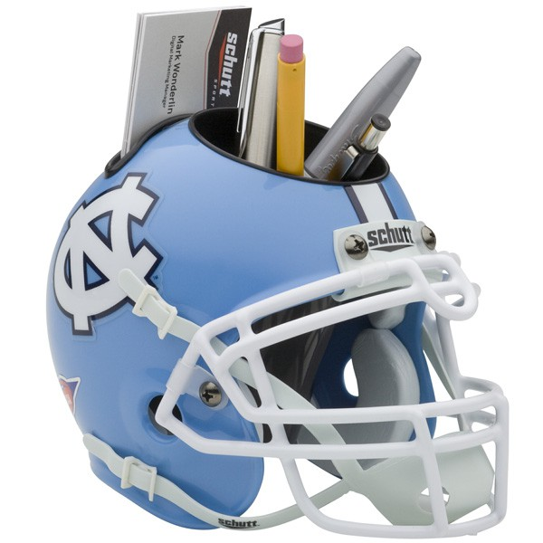 Schutt Mini Helmet Desk Caddy North Carolina Tarheels
