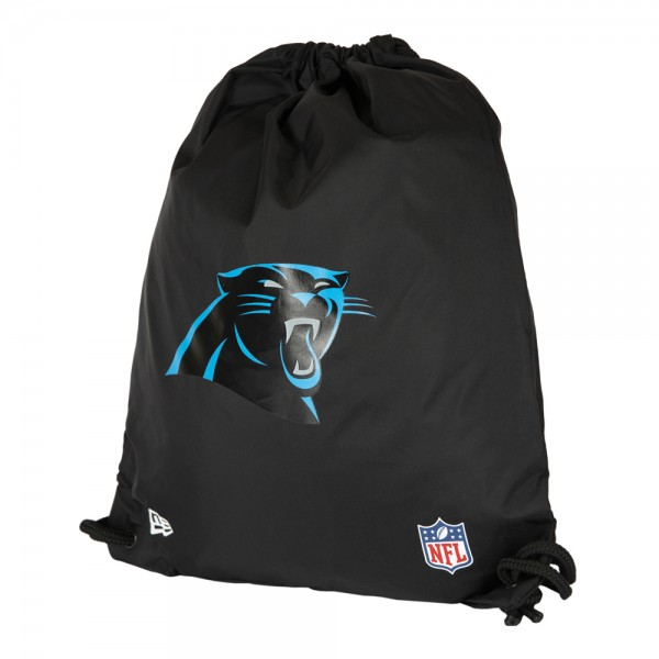 New Era Gym Sackpack Carolina Panthers