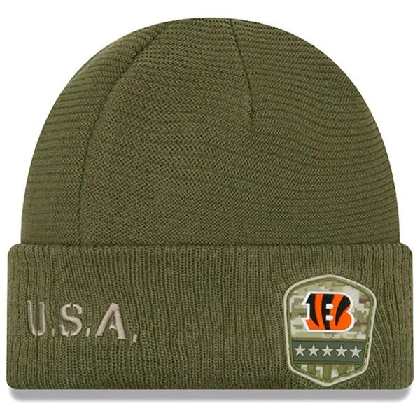 New Era OnField 19 STS Knit Hat Cin. Bengals
