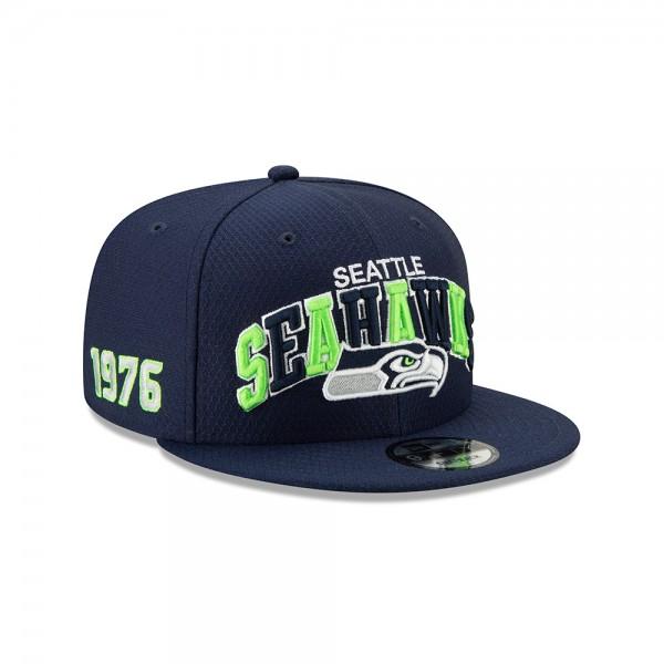 NFL 2019 Sideline 9Fifty Snapback Cap OSFM Home Seattle Seahawks
