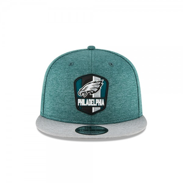 NFL Sideline 9Fifty Snapback Cap Philadelphia Eagles AWAY