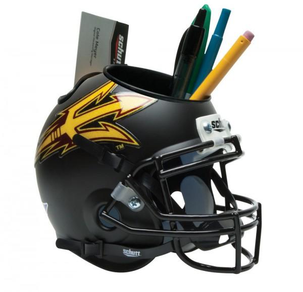 Schutt Mini Helmet Desk Caddy Arizona Sun State Devils