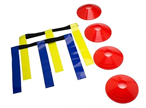 Schutt Flag Football Set incl. 4 Endzone Cones