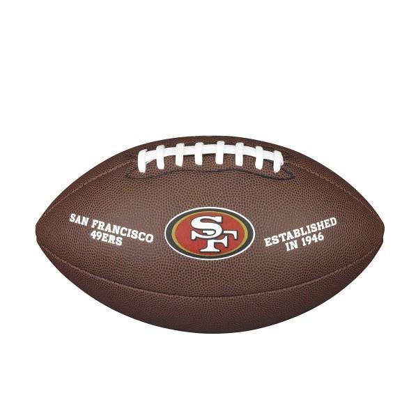 Wilson NFL Licensed Ball San Fran. 49er F1748