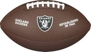 Wilson NFL License Raiders F1748