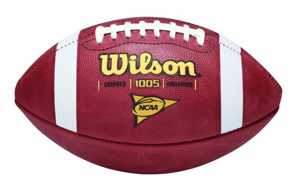 Wilson NCAA Leather Football