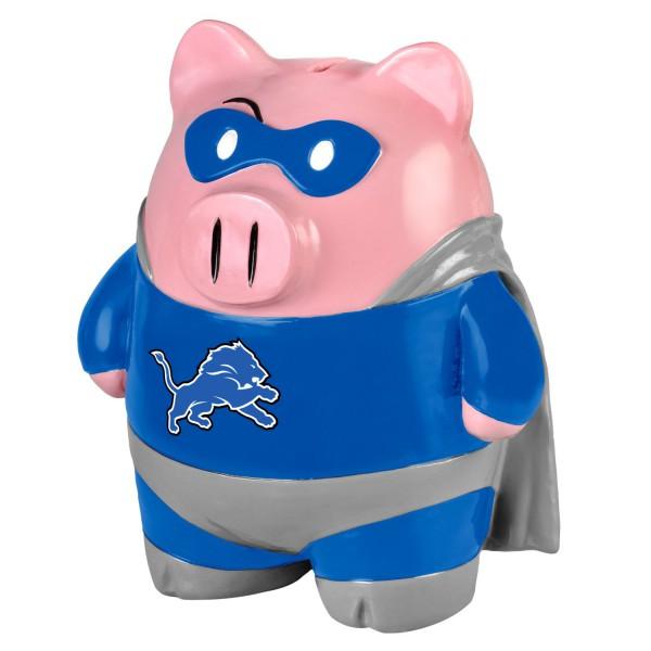 Detroit Lions Super Hero Bank