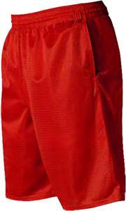 Alleson Mesh Short Scarlet / Red