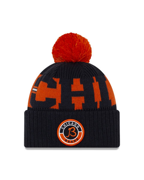"""NFL Sideline Bobble Knit Chicago Bears """"B-Logo"""""""