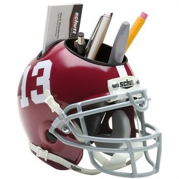 Schutt Mini Helmet Desk Caddy Alabama Crimson Tide