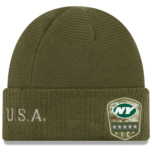 New Era OnField 19 STS Knit Hat NY Jets