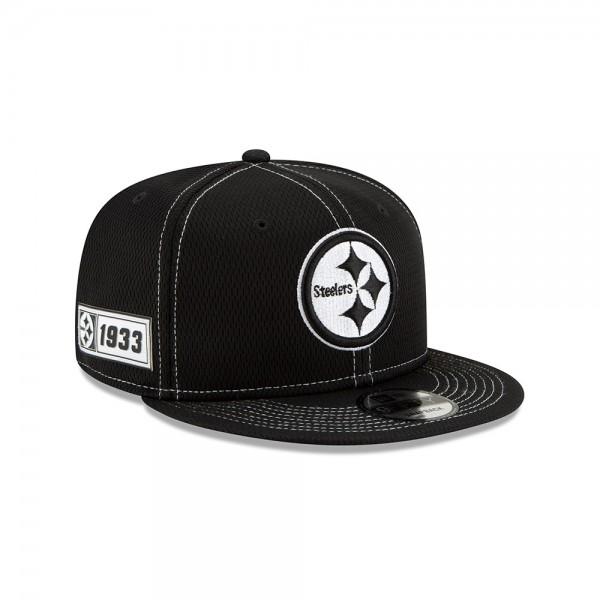 NFL 2019 Sideline 9Fifty Snapback Cap OSFM Away Pittsburgh Steelers