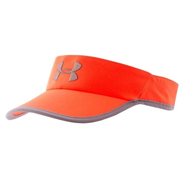 UA Men's Shadow Run Visor Bolt Orange