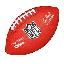 Mini NFL Football WTF1631 RED