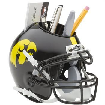 Schutt Mini Helmet Desk Caddy Iowa Hawkeyes