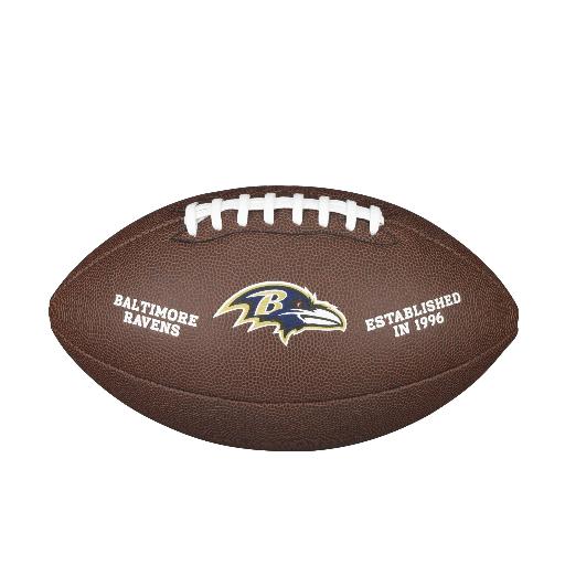 Wilson NFL Licensed Ball Baltimore Ravens F1748