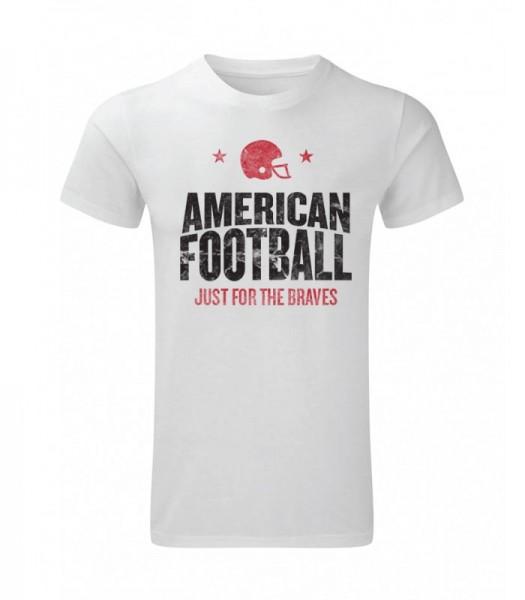 American Football Tee White