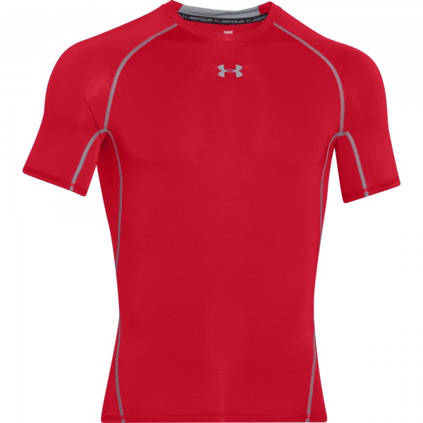 UA Armour Shortsleeve Red (600)