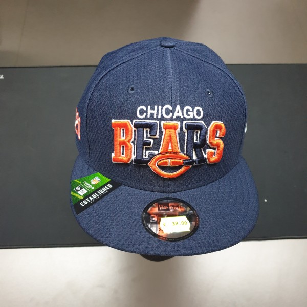 NFL 2019 Sideline 9Fifty Snapback Cap OSFM Home Chicago Bears