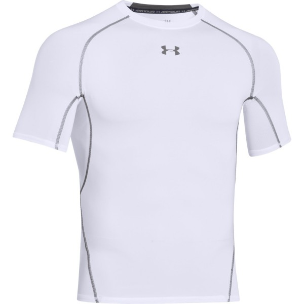 UA Armour Shortsleeve White (100)