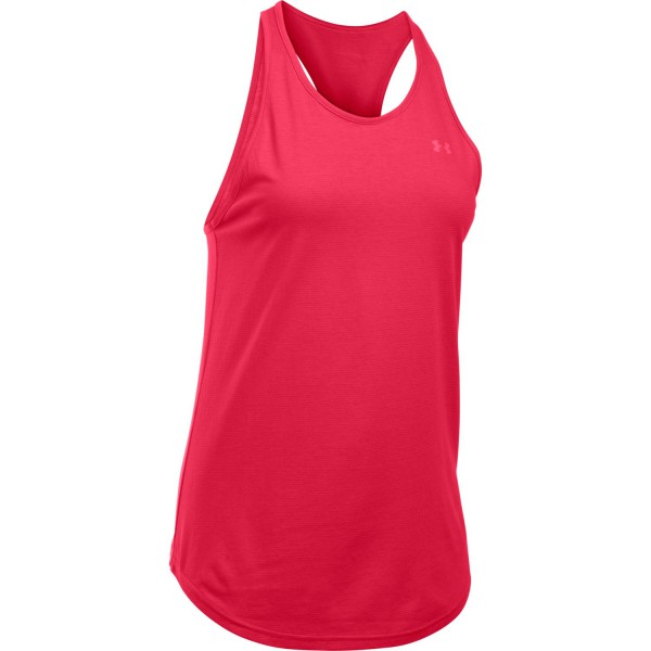 UA Women's Microthreat Keyhole Top Knock Out Large (656)