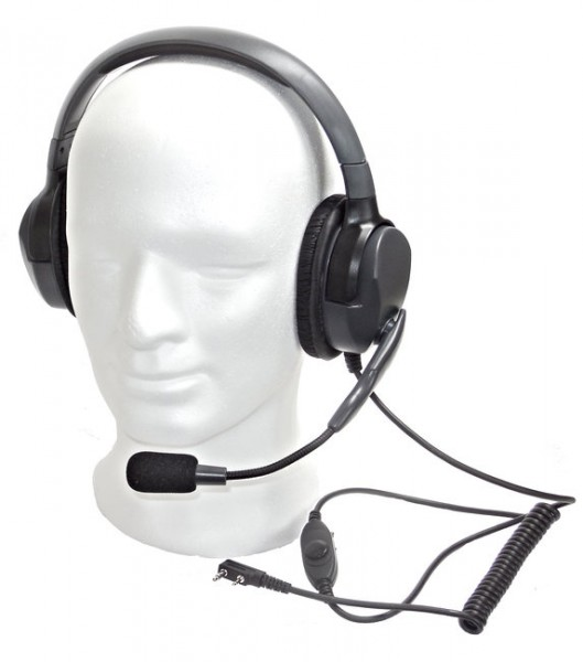 Headset Double Max 4-G Kopfhörer-Mikrofon