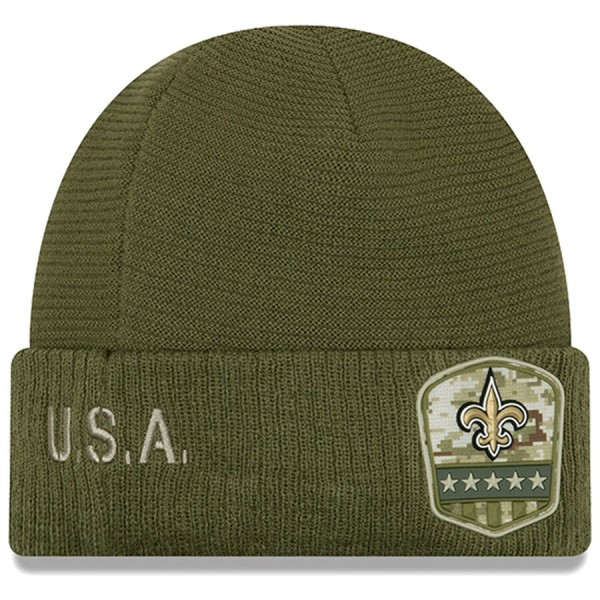 New Era OnField 19 STS Knit Hat NO Saints