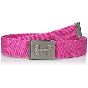 Under Armour Webbing Belt Tropic Pink