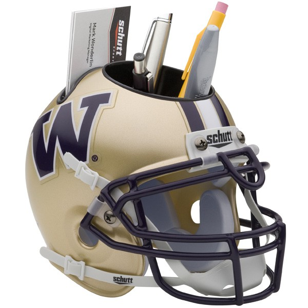 Schutt Mini Helmet Desk Caddy Washington Huskies