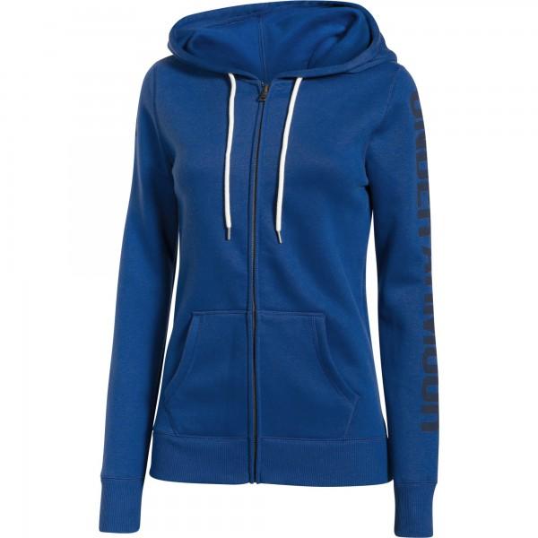 UA Storm Rival Cotton Full Zip Cobalt