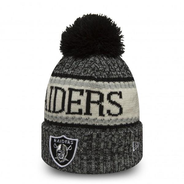 NFL Sideline Bobble Knit Oakland Raiders