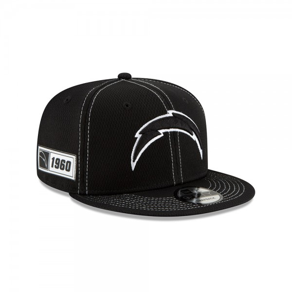 NFL 2019 Sideline 9Fifty Snapback Cap OSFM Away LA Chargers
