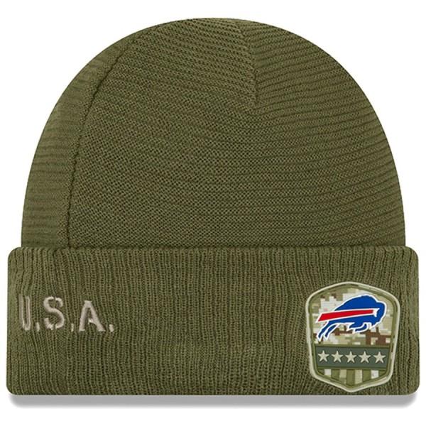 New Era OnField 19 STS Knit Hat Buffalo Bills