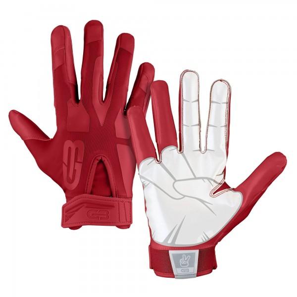 Grip Boost Peace Football Glove Scarlet