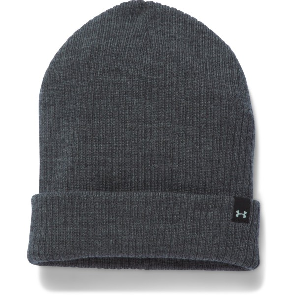 UA Women's Favorite Knit Beanie Carbon Heather (090)