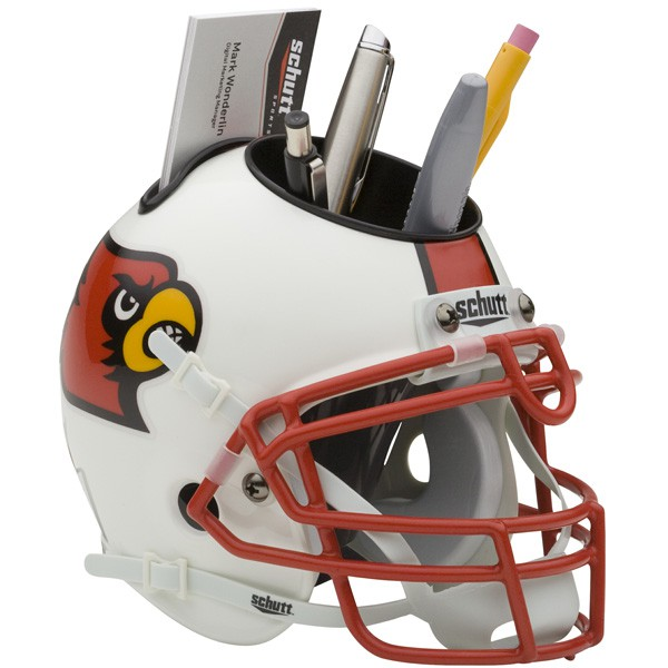 Schutt Mini Helmet Desk Caddy Louisvile Cardinals