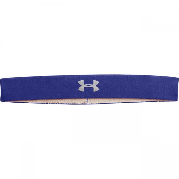 Under Armour Women's Power Thru Headband Siberian Iris