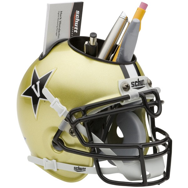 Schutt Mini Helmet Desk Caddy Vanderbilt Commodores