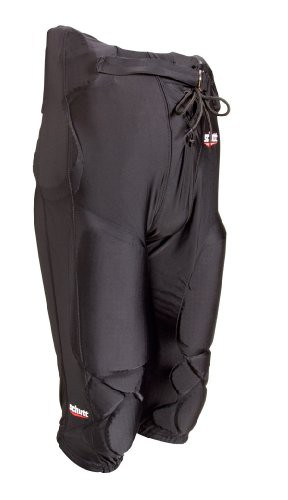 Polyester All-In-One Pant Youth Black incl. Pads & Belt - SALE