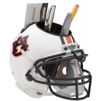 Schutt Mini Helmet Desk Caddy Auburn Tigers