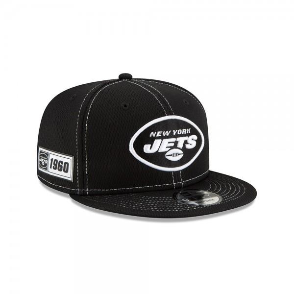 NFL 2019 Sideline 9Fifty Snapback Cap OSFM Away New York Jets