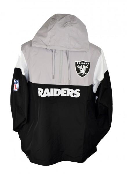 Block Windbreaker NFL Oakland Raiders Small