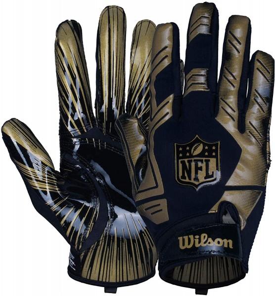 Wilson NFL Stretch Fit Glove Gold