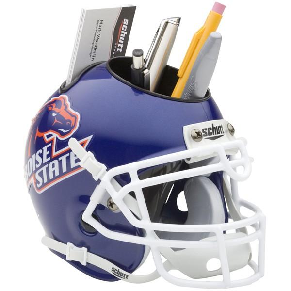 Schutt Mini Helmet Desk Caddy Boise State Broncos